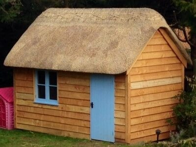 Thatched Garden Office