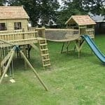 Double platform Tree house