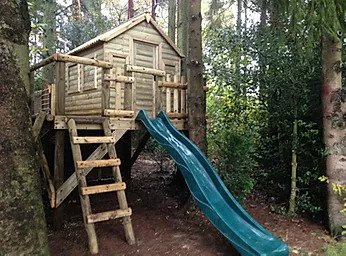 Adventure platform tree house