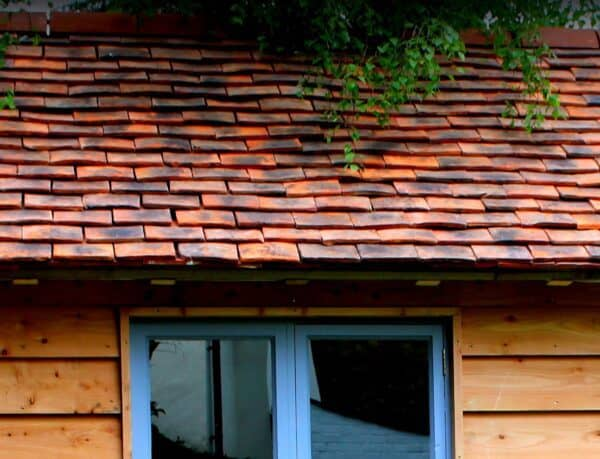 Clay Tile Roof Detail