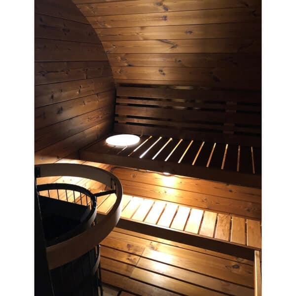Deluxe Sauna interna