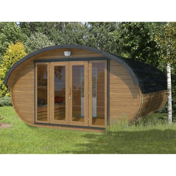 Deluxe Sauna External